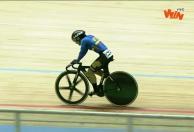 Martha Bayona ganó oro en la Copa de Naciones de Ciclismo de Pista.