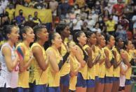 Colombia clasificó al Mundial de Voleibol 2022. / Foto: VizzorImage - Nelson Ríos