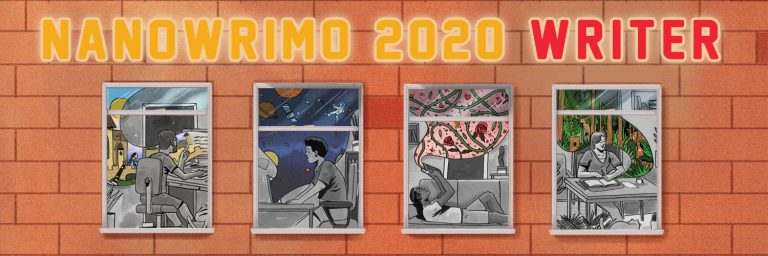 [NaNoWriMo] NaNoWriMo 2020 NaNo-2020-Writer-Banner-Twitter-768x256