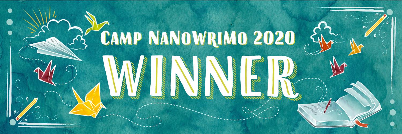 Camp Winner 2020 - Twitter Banner