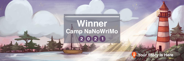 Camp Winner 2021 - Twitter Banner
