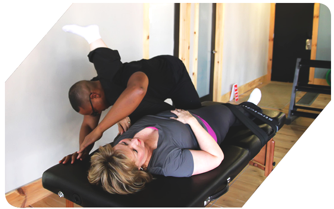stretching glutes during fascial stretch therapy hamilton