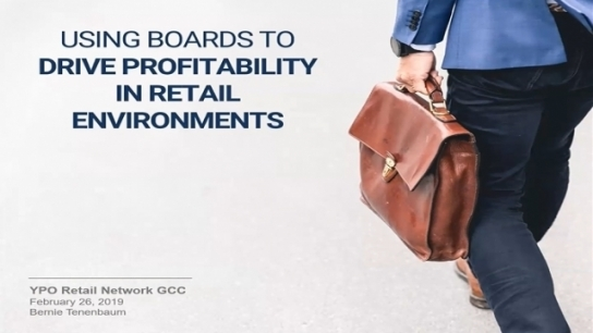 GCC: Using Boards to Drive Profitability in Retail Environments