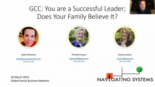 GCC: You are a Successful Leader; Does Your Family Believe It?