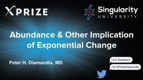 Abundance & Other Implications of Exponential Change - Peter Diamandis