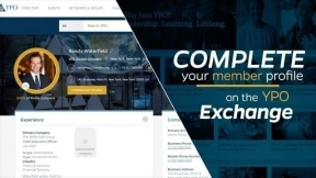 Complete Your Member Profile and Unlock the Power of YPO Connections