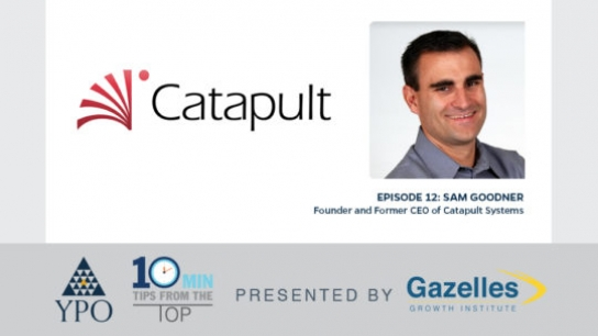 Episode 12: Sam Goodner (Catapult Systems), Austin, TX, USA