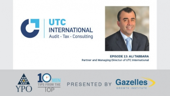 Episode 13: Ali Tabbara (UTC International), Riyadh, Saudi Arabia