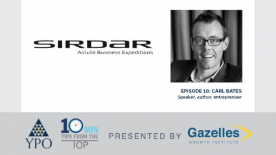 Episode 18: Carl Bates (Sirdar Group Global), Johannesburg, South Africa