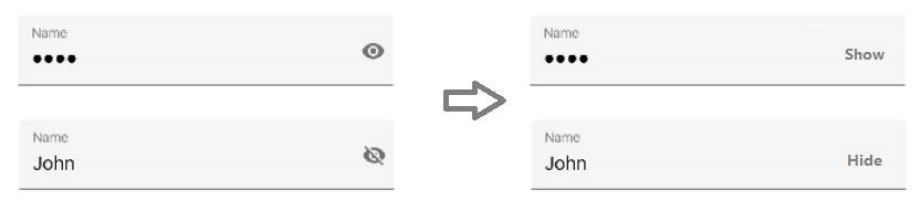 Password visibility toggle inverted ? | Xamarin Forms Forums