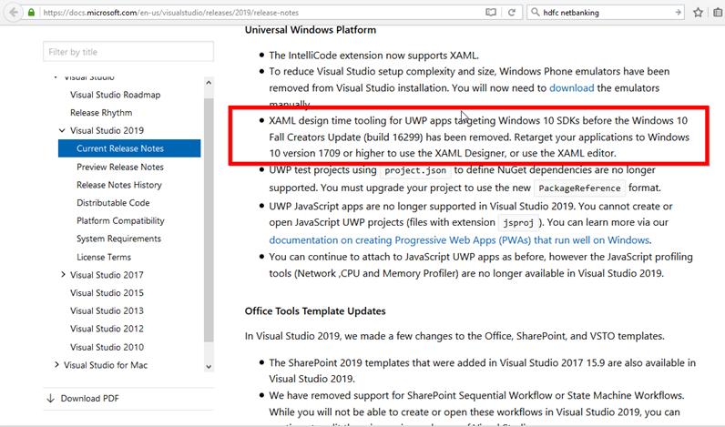 Windows Template Studio Download