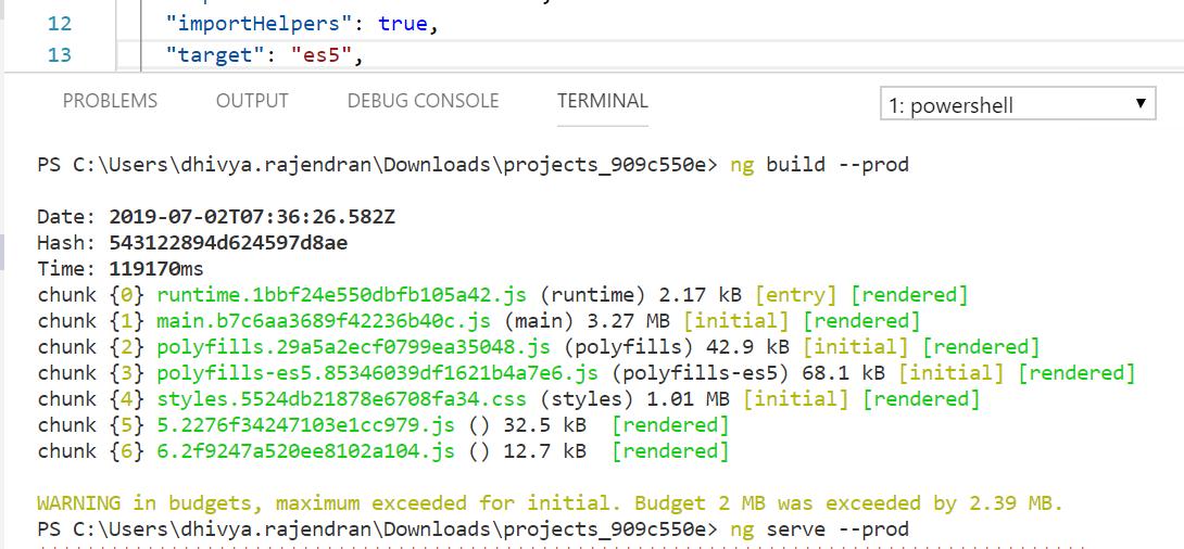 Angular 8 + grid is broken for es2015 bundles using the newest