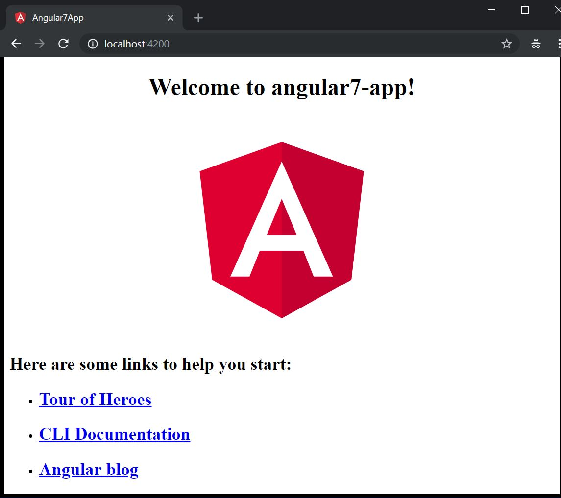Angular application startup page to get start with Syncfusion Tree Grid/Tree Table/Tree List control.