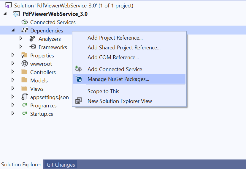 Add NuGet packages