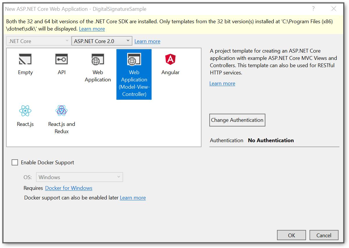 Web Application pattern screenshot