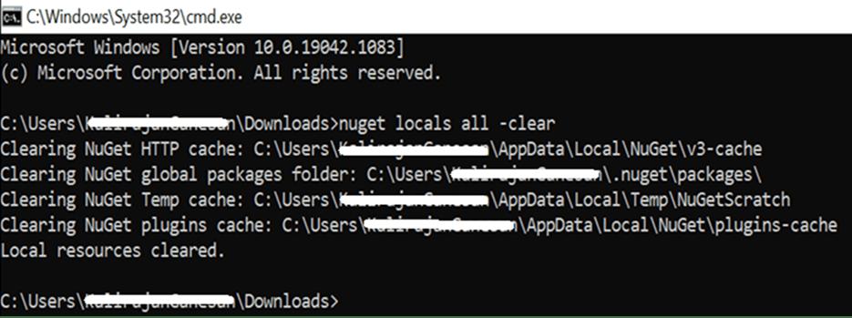 Mac nuget cache clear command