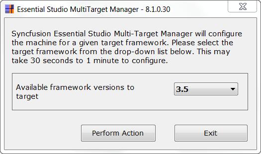 Essential Studio MutlTarget Manager
