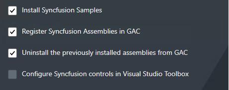 Default advanced option for uwp platform