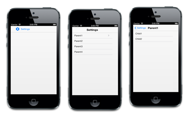 Mobile listview