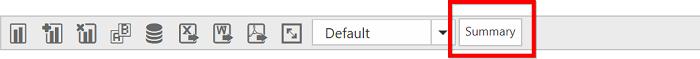 Summary type icon in Toolbar of PivotClient