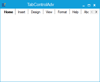Show the scroll buttons in TabControl