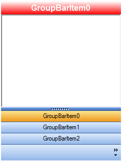 Customize the header backcolor in GroupBar