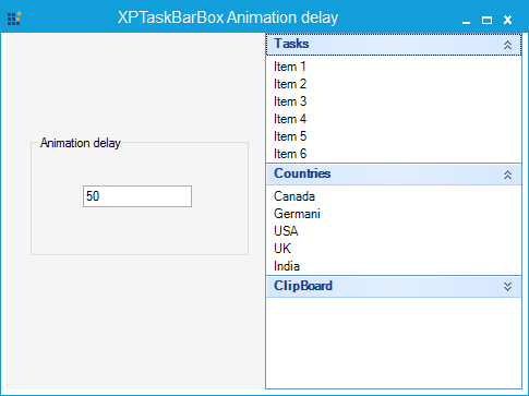 Animation delay based on the TextboxExt value