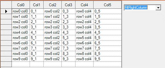 Show the adjust column width