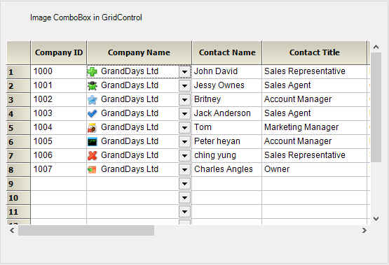 Showing image ComboBox in GridControl