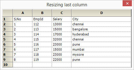 Resizing the last column in gridcontrol