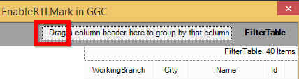 Enable right to left in GridGroupingControl