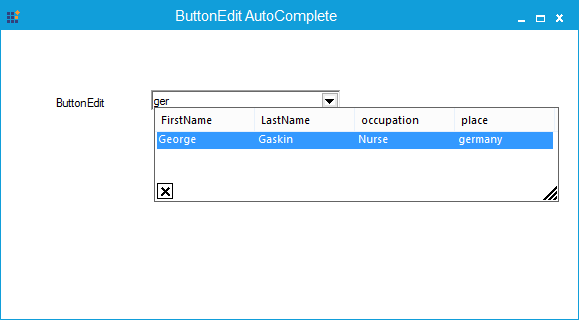 AutoComplete popup on ButtonEdit by click child button