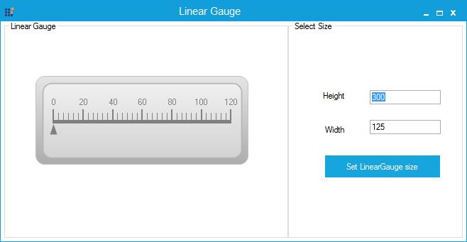 Default size of Linear Gauge