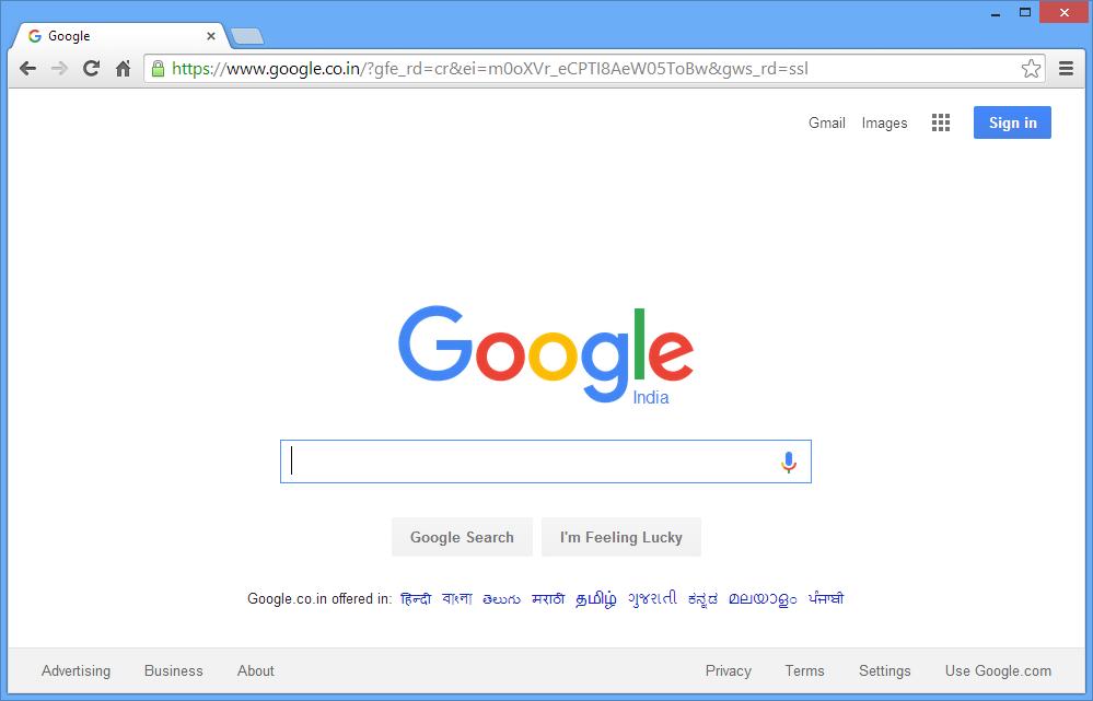 Webpage loaded to browser after clicking hyperlink