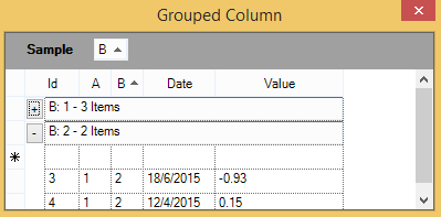 Show the grouped columns in GridGroupingControl