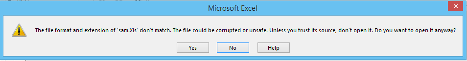 Indicate the corrupted file export from GridGroupingControl
