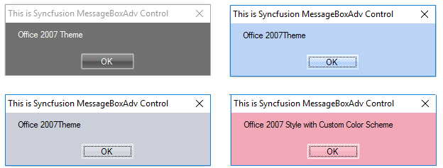 Applied Office2007 style to MessageBoxAdv