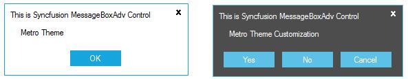 Applied Metro style to MessageBoxAdv