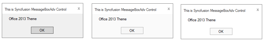 Applied Office2013 style to MessageBoxAdv