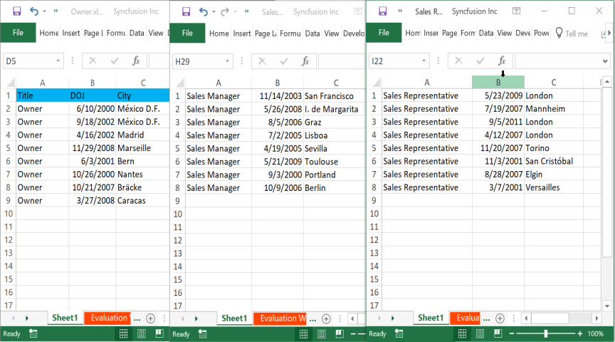 Split Excel File
