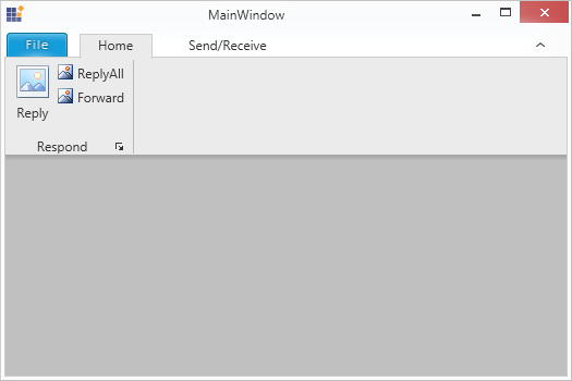 Display the ribbon contextmenu while RibbonContextMenuOpening event is handled in WPF Ribbon