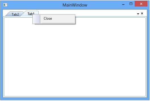 WPF DockingManager displays close context menu item