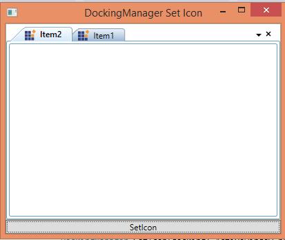 Adding icon to WPF DockingManager header