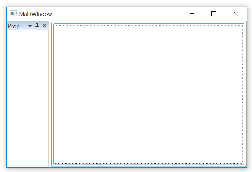 Collapse header panel in document container