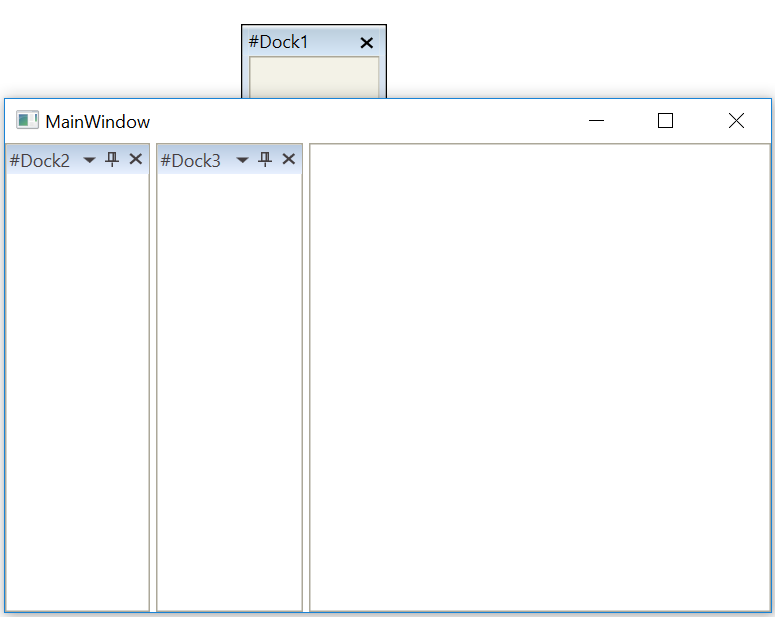 Roll up mainwindow on top of float window in WPF DockingManager