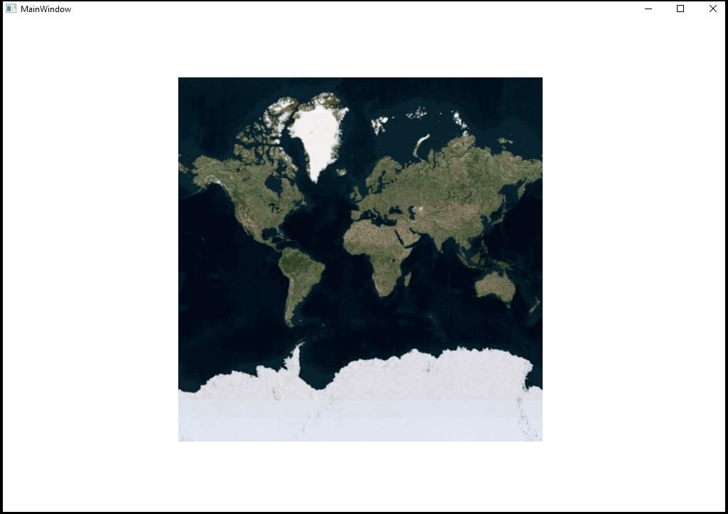 Bing Map using WPF Map