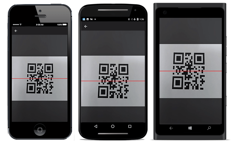 Barcode image in android