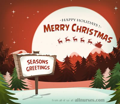 12 Days of Giveaways - Merry Christmas from allnurses