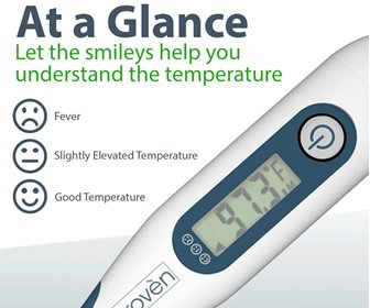 View the product iProven Oral and Rectal Digital Thermometer DTR-1221