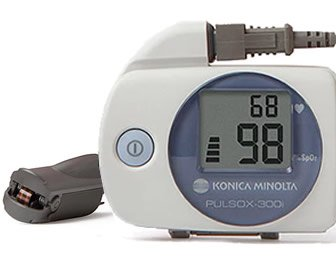 View the product Konica Minolta Pulsox-300i Pulse Oximeter Sleep Study Kit with Finger Clip Probe and PROFOX Software by MEDTEK